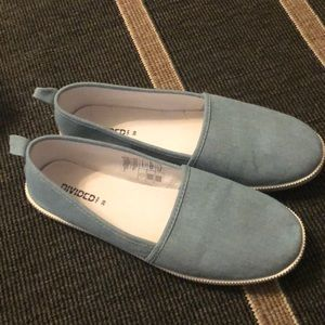 H&M chambray shoes worn once
